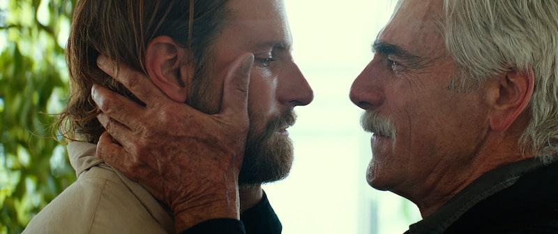 Bradley Cooper and Sam Elliott