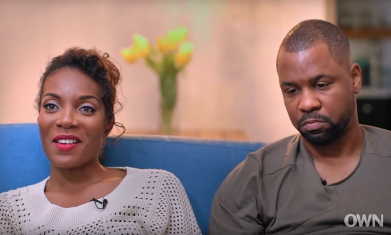 Shannon Sylvain and husband Bechir on Black Love