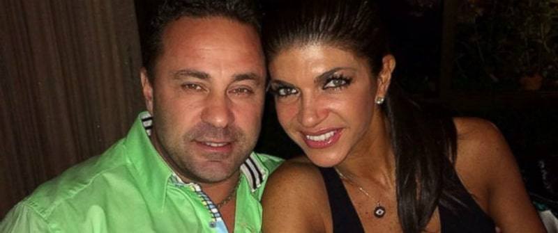 Joe and Teresa Giudice pose together for a photo shared to her Instagram
