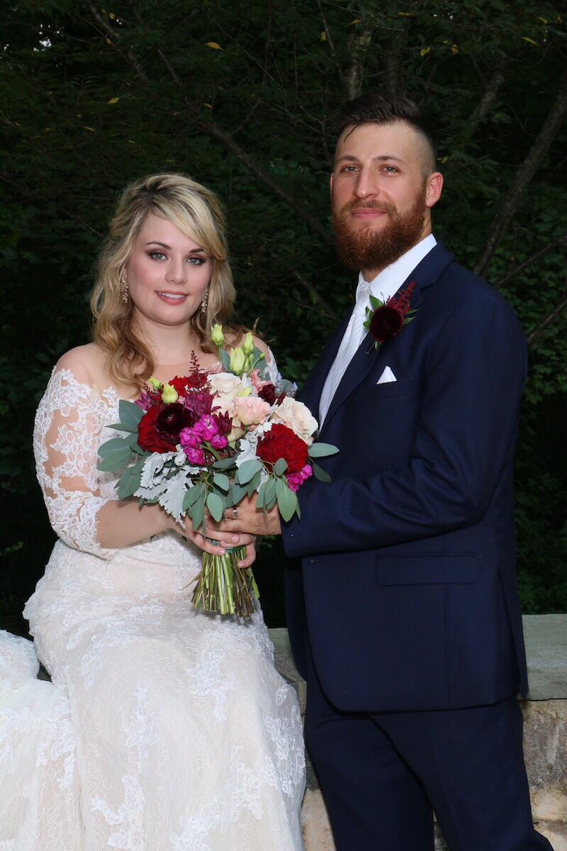 Luke Cuccarullo and Kate Sisk got married on the day they met for Season 8 of Married at First Sight. PIc credit: Terrance Harrison