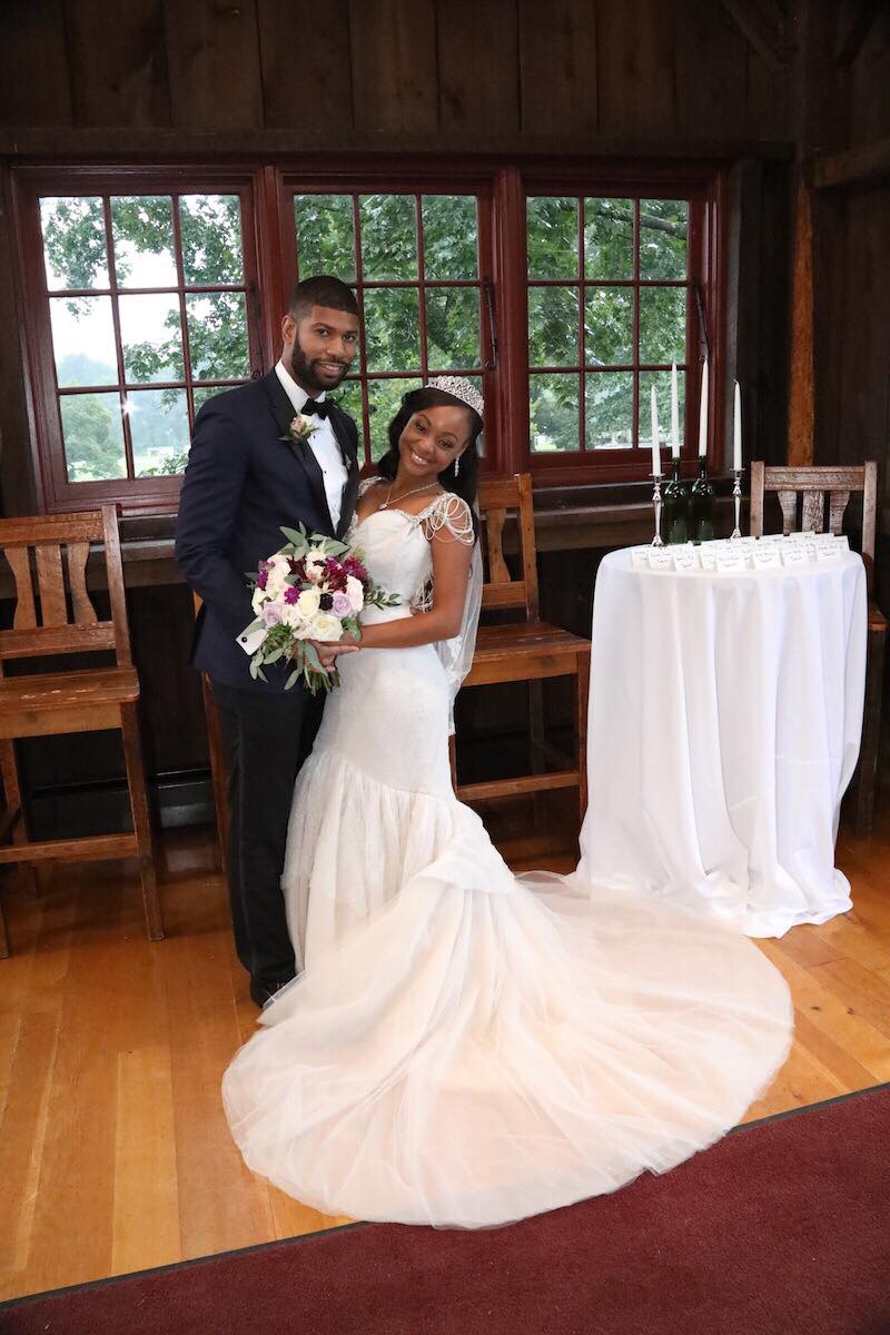 Keith Dewar and Kristine Killingsworth got married on the day they met for Season 8 of MAFS. Pic credit: Terrance Harrison