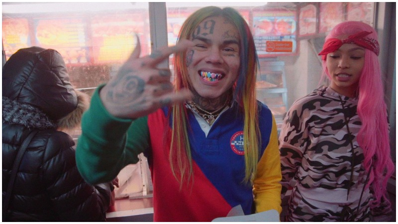 6ix9ine jail jade girlfriend