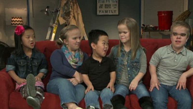 The five Johnston kids are Emma, Elizabeth, Alex, Anna, and Jonah
