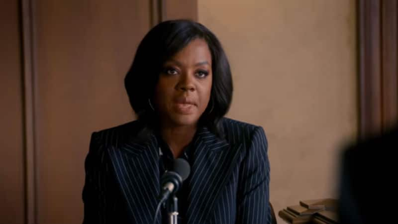 Viola Davis as Annalise Keating on How To Get Away With Murder