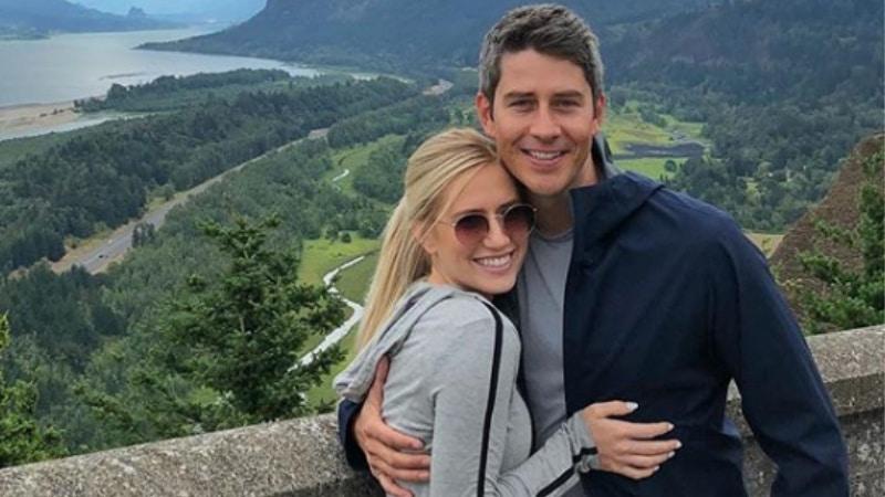Arie Luyendyk Jr and Lauren Burnham on holiday