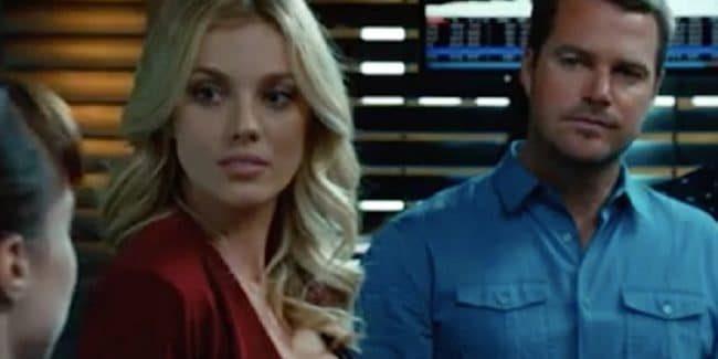Bary Paly as Anastasia Kolchek on NCIS: Los Angeles