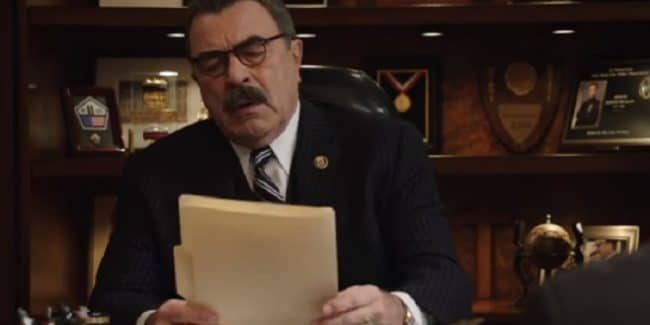 Tom Selleck as Frank Reagan on Blue Bloods