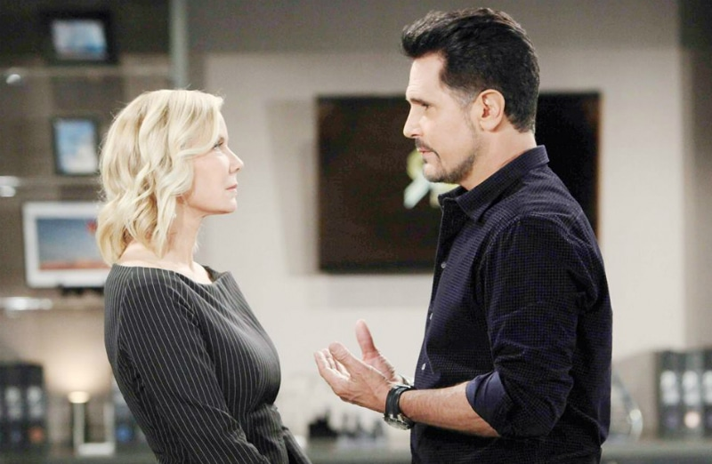 Brooke and Ridge talk on The Bold and the Beautiful