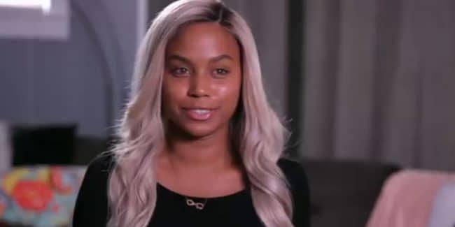 Cheyenne Floyd in a Teen Mom OG confessional