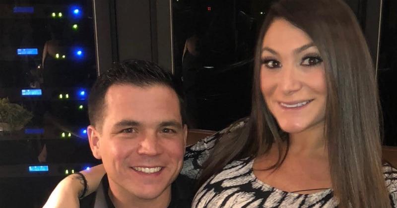 Chris Bucker and Deena Cortese pose together on Instagram