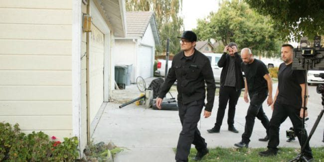Zak Bagans and the Ghost Adventures team are exploring a California home for 'sinister' spirits. Pic credit: Travel