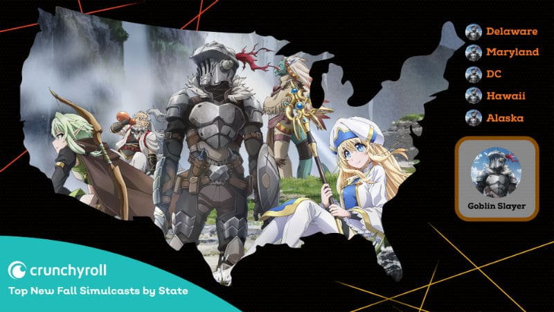 Goblin Slayer Crunchyroll Most Popular Anime