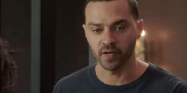 Jackson Avery during important episode of Grey's Anatomy