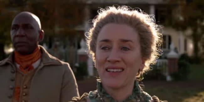 Jocasta on Outlander played by Maria Doyle Kennedy