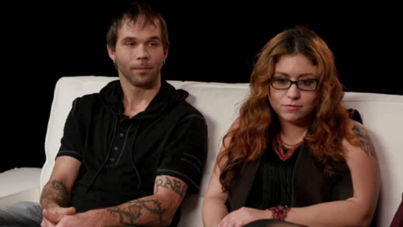 Jeremiah Raber and Sabrina Burkholder talking Amish traditions