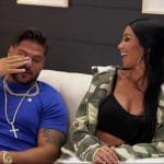 Ronnie and Lindsay get to know each other on Jersey Shore Family Vacation
