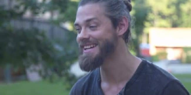Tom Payne as Jesus on The Walking Dead