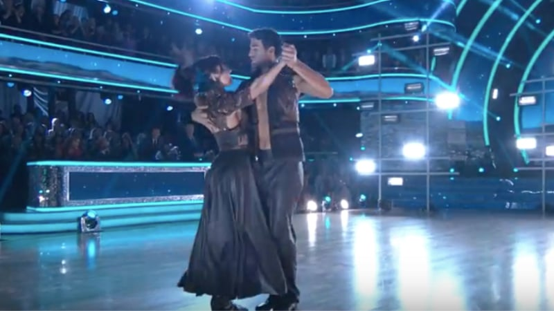 Who went home on Dancing With The Stars during the season's first double elimination?