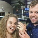 John David Duggar and Abbie Grace Burnett right after they were engaged