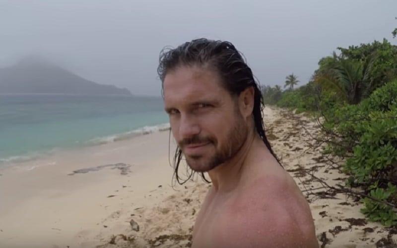 John on Survivor. He was blindsided at a shocking Tribal Council