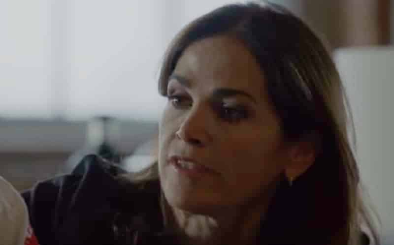 Kim Delaney as Jennifer Sheridan (Kelly Severide's mom) on Chicago Fire. Pic credit: NBC
