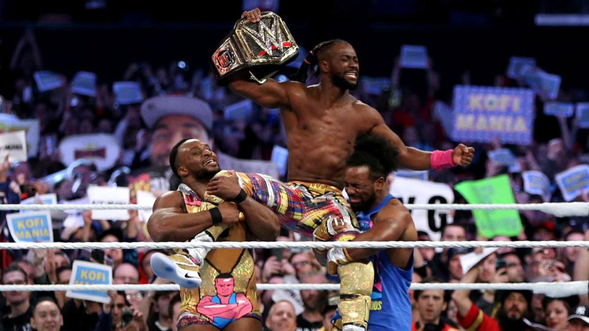 Kofi Kingston as the new WWE Champion