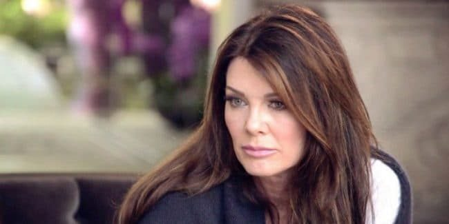 Lisa Vanderpump filming with Bravo