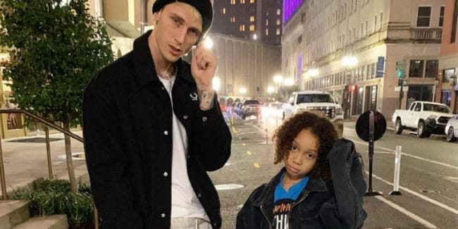 Machine Gun Kelly and daughter Casie