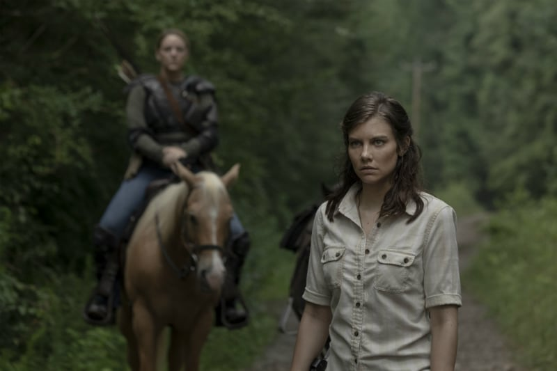 Maggie Greene played by Lauren Cohan on The Walking Dead