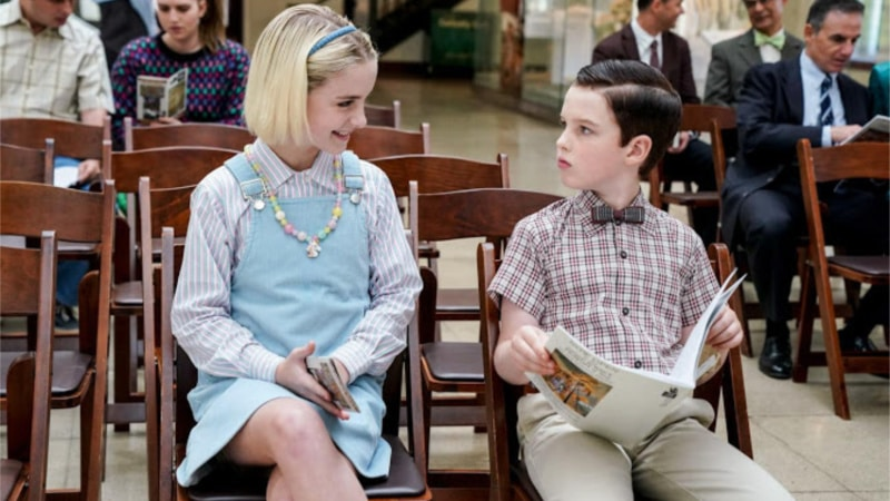 Wallace Shawn and Mckenna Grace Return as Dr. Sturgis and Paige on Young Sheldon