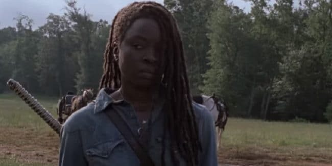 Michonne on Season 9 of The Walking Dead