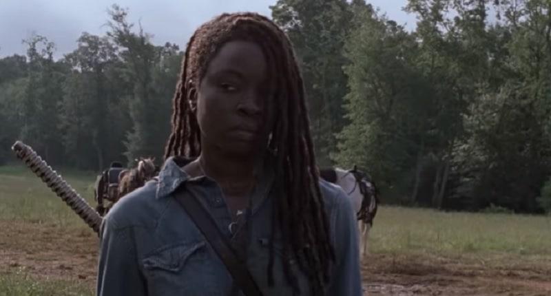 Michonne on Season 9 of The Walking Dead