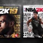 Both covers of NBA 2k19