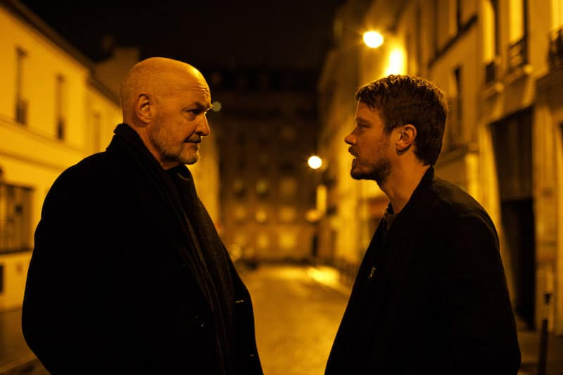 Michael Dorman as John Tavner and Terry O'Quinn as his father Tom