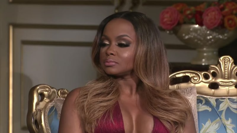 Phaedra Parks was exposed during Season 9 reunion on Real Housewives of Atlanta
