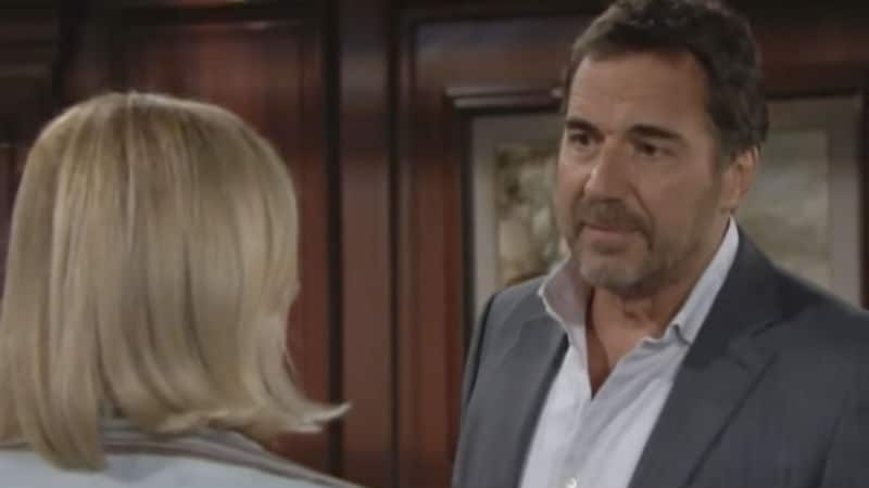 Thorsten Kaye and Katherine Kelly Lang as Ridge and Brooke Forrester on The Bold and the Beautiful