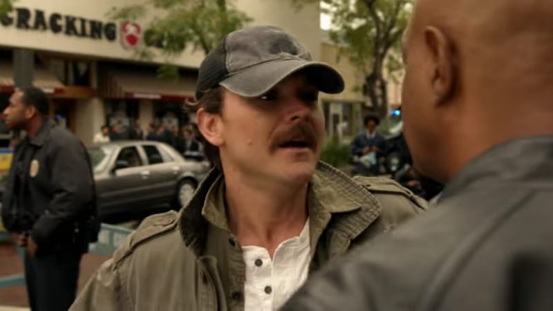 Riggs played by Clayne Crawford on Season 2 of Lethal Weapon. Pic credit: FOX