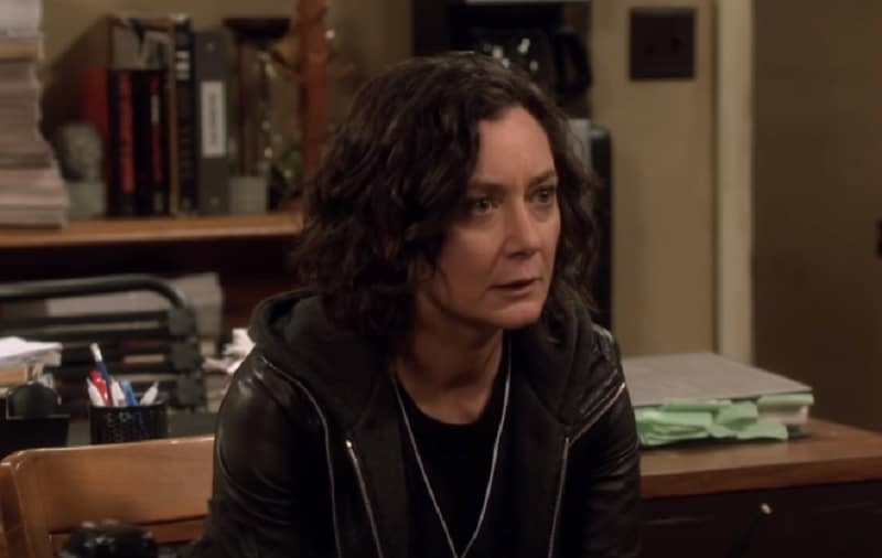 Sara Gilbert as Darlene Conner on The Conners