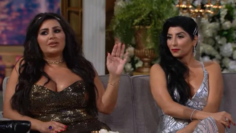 MJ and Destiny at the Shahs of Sunset reunion