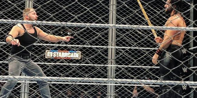 WWE superstar makes surprise return at Starrcade as a substitute for injured Braun Strowman, full results of huge WWE show