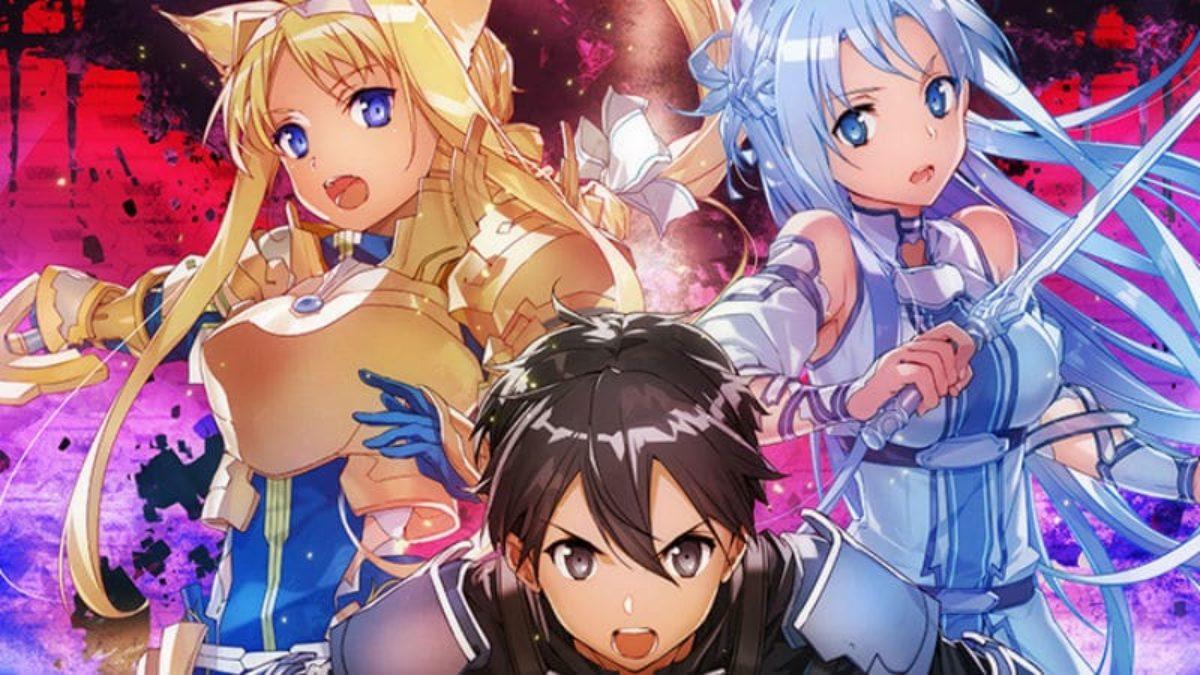 Sword Art Online Unital Ring Story Character Art Revealed In Light Novel Cover
