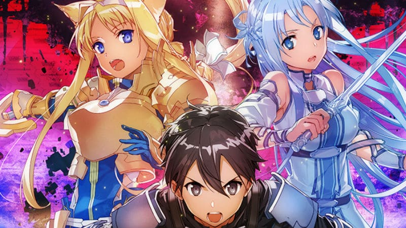 Sword Art Online Unital Ring Story, Kirito's new armor, cat ears Alice, and Asuna's costume revealed in light novel cover art for Reki Kawahara's SAO Volume 21