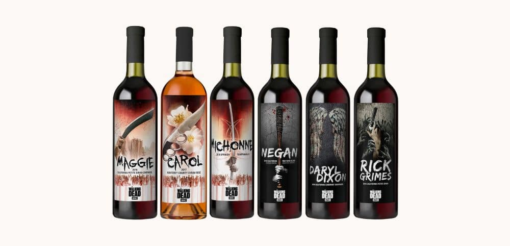 TWD Wines - Black Friday deals: The Walking Dead keepsakes and really clever gift ideas