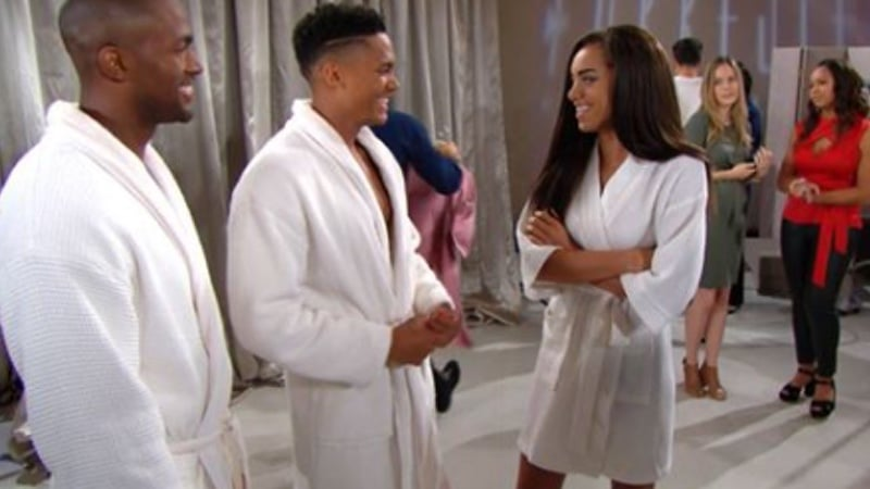 ZAnder and Zoe on The Bold and the Beautiful