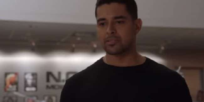 Agent Torres hunts Ritz during the November 13 episode of NCIS