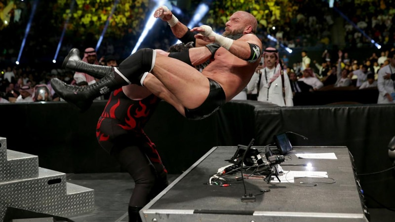 Triple H injured at WWE Crown Jewel: Will possibly require surgery