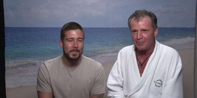 Vinny and his hilarious Uncle Nino in the Jersey Shore Family Vacation confessional