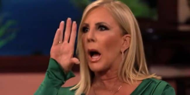 Vicki Gunvalson at The Real Housewives of Orange County reunion show