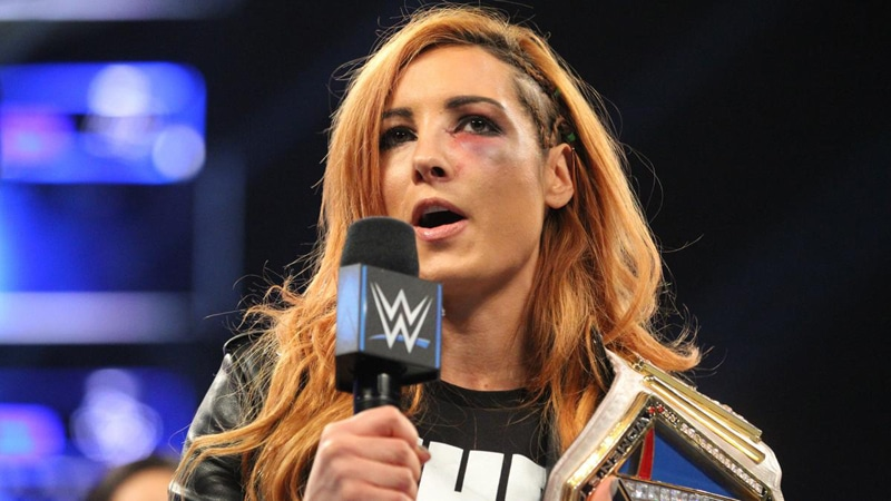 Becky Lynch injury doesn't stop Ronda Rousey WWE feud as they continue trading barbs on social media