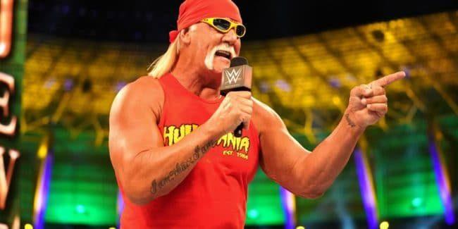 WWE superstar challenges Hulk Hogan to a match at WrestleMania